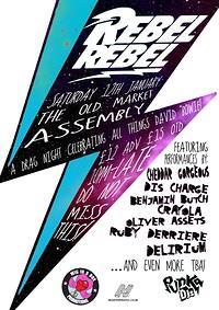 Rebel Rebel - A drag night celebrating all things  in Bristol