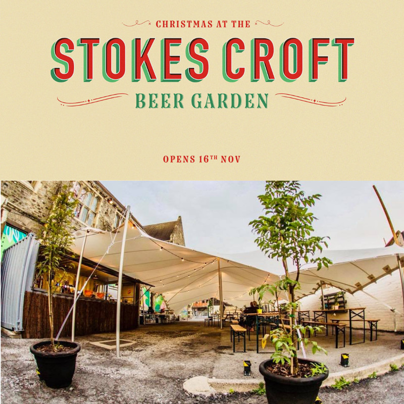 Home Alone at Stokes Croft Beer Garden