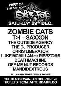 Bris-Tek 23 - Xmas & B'day Party in Bristol
