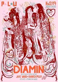 PLU Valentines with Diamin in Bristol