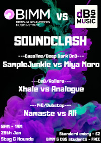 BIMM vs DBS Soundclash in Bristol