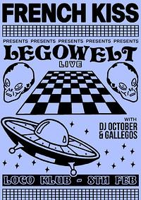 French Kiss presents: Legowelt (Live) / DJ October in Bristol