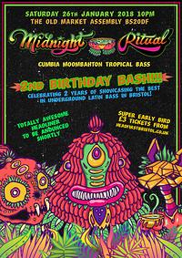 MIDNIGHT RITUAL 2ND BIRTHDAY BASH! in Bristol