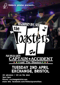 The Toasters / Captain Accident in Bristol