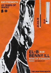 ESO Pres. 20 Years Of Ghost: El-B, Benny Ill, MOAD in Bristol