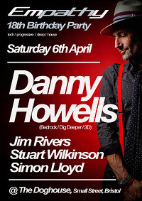 Empathy 18th Birthday with Danny Howells in Bristol