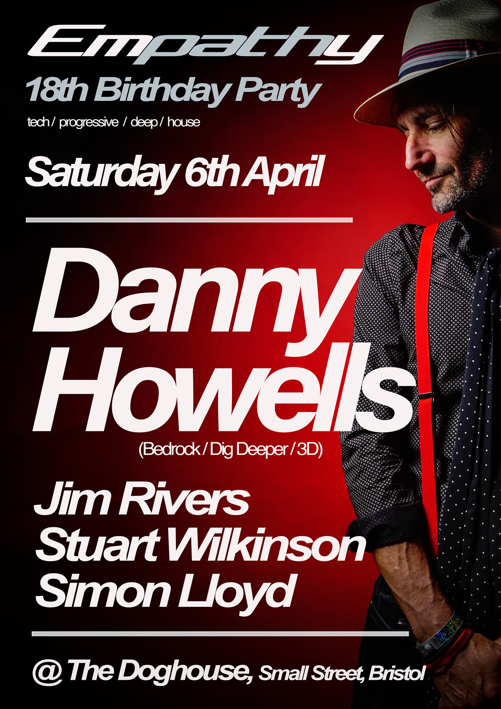 Empathy 18th Birthday With Danny Howells Tickets The Doghouse 1250 From Headfirst