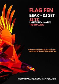 Flag Fen, Beak> DJs, Seitz, Schnauser & more in Bristol