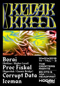 Kodak Kreed #8: Borai, Proc Fiskal, Corrupt Data in Bristol