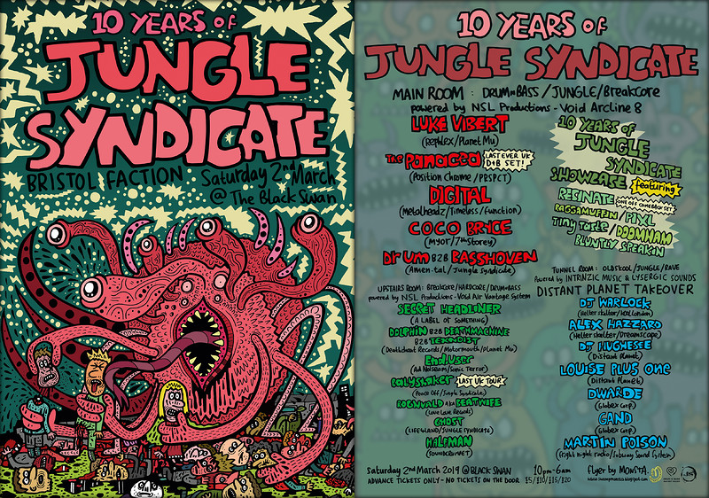10 Years of Jungle Syndicate feat. Luke Vibert at The Black Swan