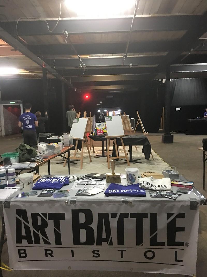 Art Battle Trinity in Bristol 2019