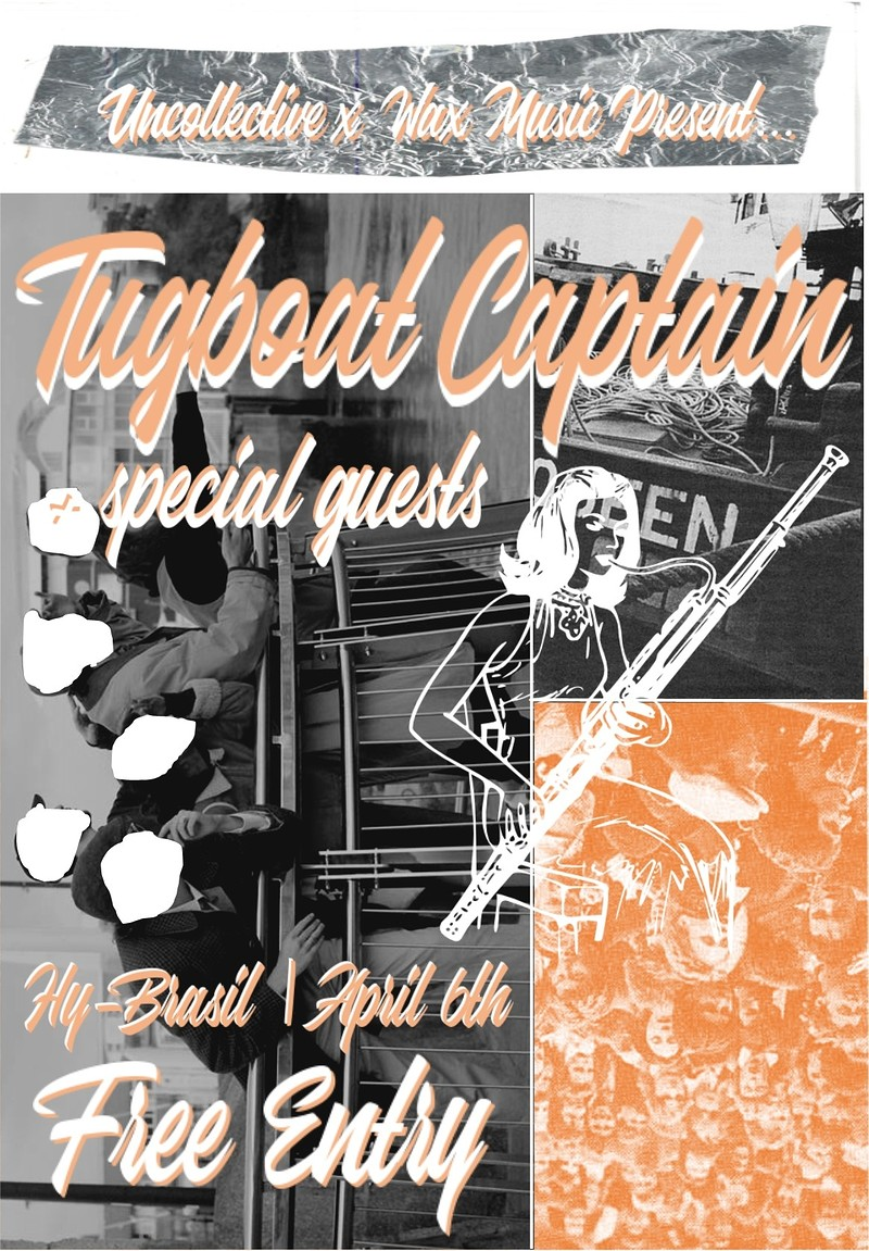 Tugboat Captain + special guests tickets, Hy-Brasil Music