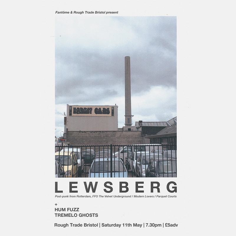 Lewsberg / Hum Fuzz / Tremolo Ghosts in Bristol 2019