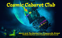 Cosmic Cabaret Club Night and Costume Party in Bristol