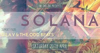 Solana - Dila V & The Oddbeats - The Jam Jar in Bristol