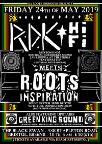 RDK Hi Fi Meets Roots Inspiration +GreenKing Sound in Bristol