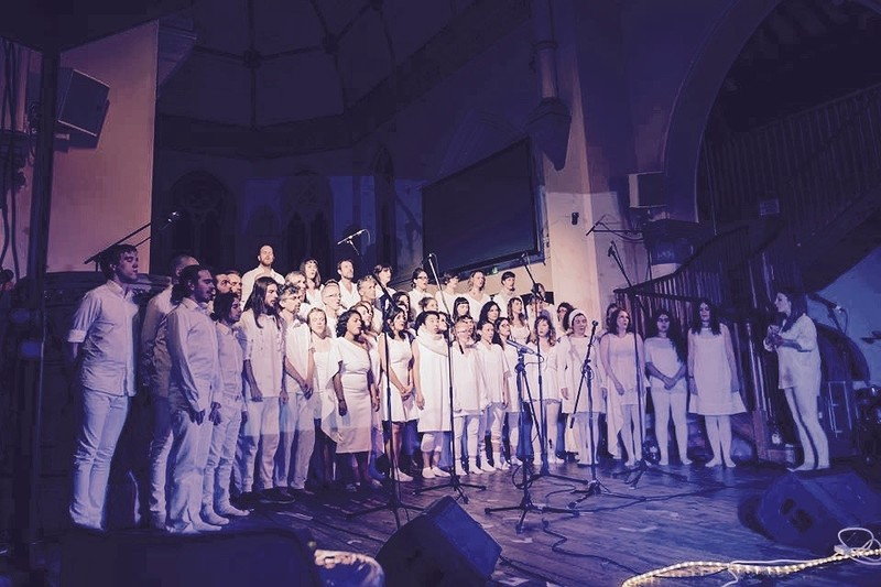 Sam Brookes + Murmuration Choir at Saint Stephen's Church