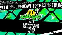 Wide Eyes: Mala / Kahn & Neek / Joker & Footsie +  in Bristol