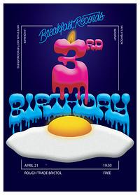 Breakfast Records 3rd Birthday Party in Bristol