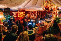 The People's Front Room Take Over at The Loco Klub in Bristol