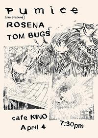 Pumice | Rosena | Tom Bugs in Bristol
