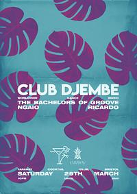 Club Djembe: Bachelors of Groove, Ngaio, Ricardo in Bristol