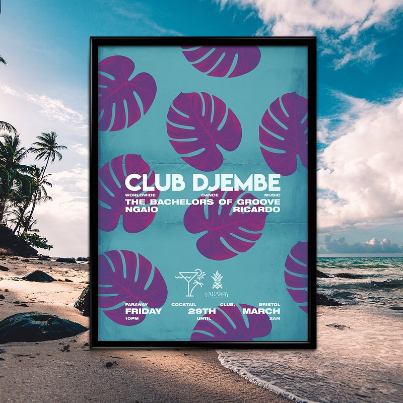 Club Djembe: Bachelors of Groove, Ngaio, Ricardo in Bristol 2019