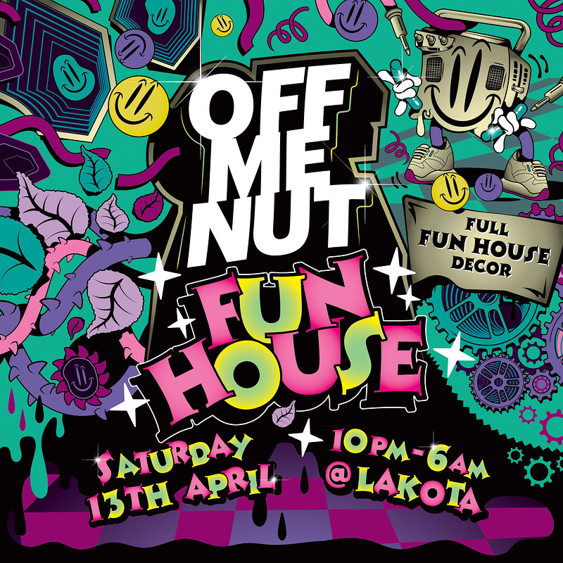 Off Me Nut Fun House  in Bristol 2019