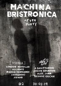 Machina Bristronica Afters in Bristol