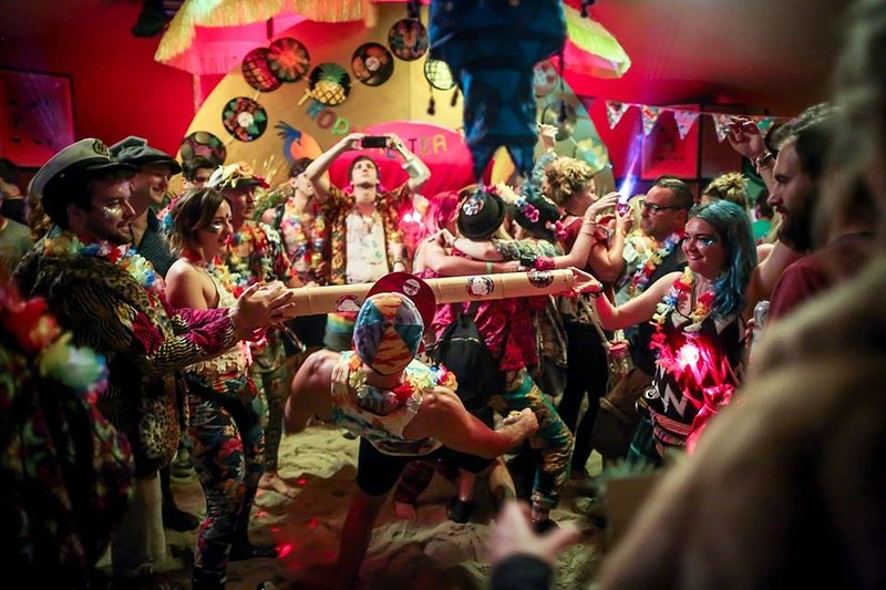 Tropical Tea Party's Tropical Cruise at Thekla! in Bristol 2019