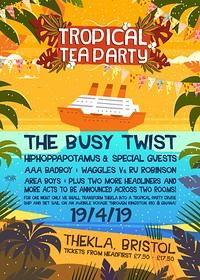 Tropical Tea Party's Tropical Cruise at Thekla! in Bristol
