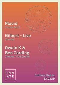 Innate x Placid x Gilbert (live) in Bristol
