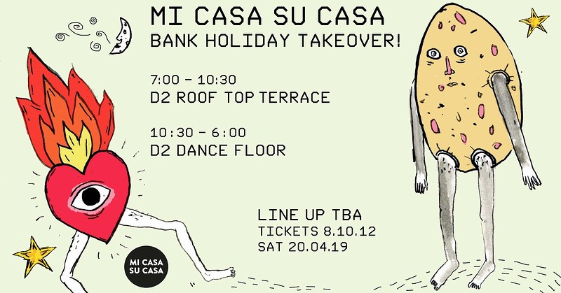 Mi Casa Su Casa Bank Holiday Takeover  - HODGE  at Dare 2