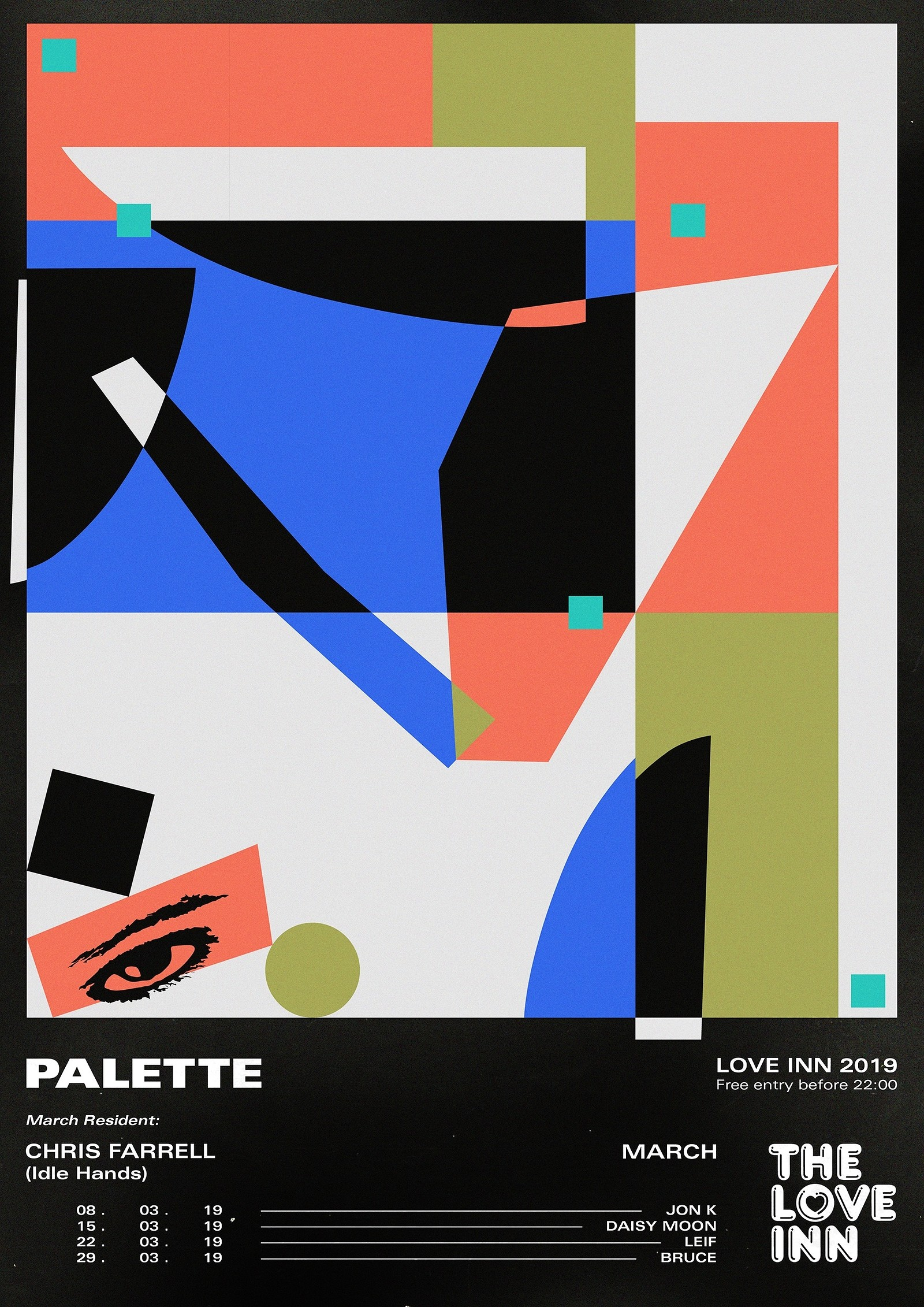 Palette ft  Daisy Moon, The Love Inn – Headfirst Bristol