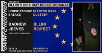 Bllini's Birthday Brexit Bonanza in Bristol