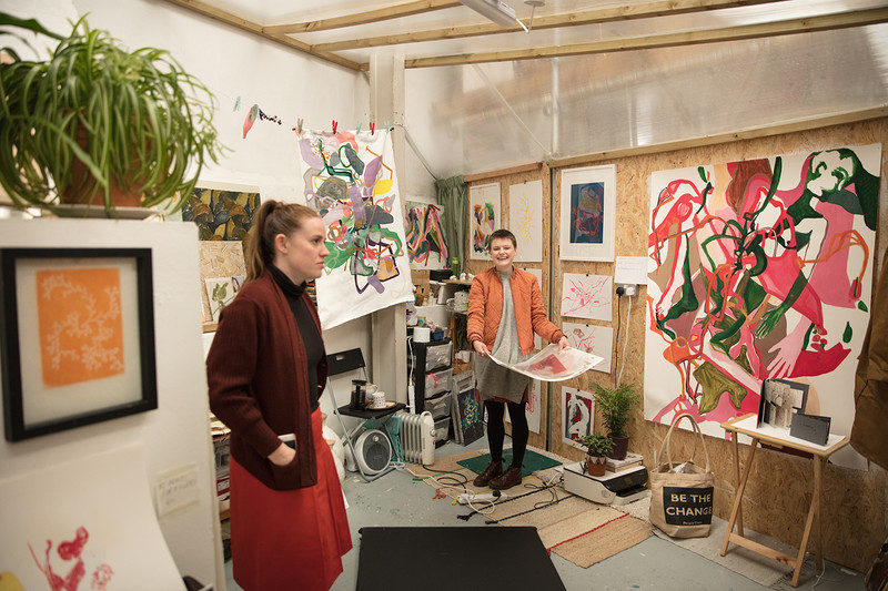 Open Studios Preview Night at Estate of the Arts