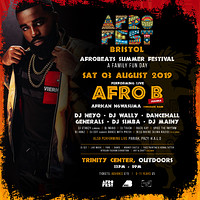AfroFest Bristol Summer Festival with AFRO B in Bristol