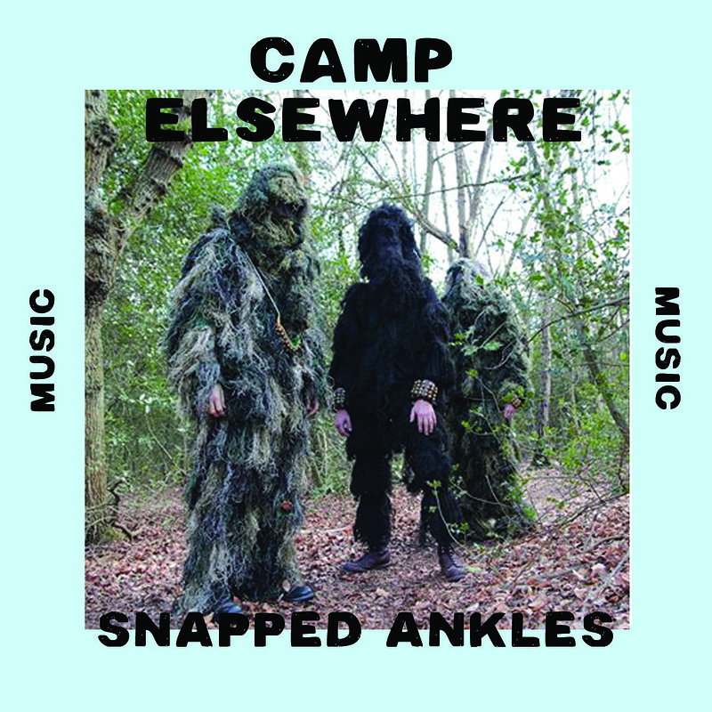 Camp Elsewhere 2019 at PRIVATE FOREST, MERTHYR MAWR, WALES