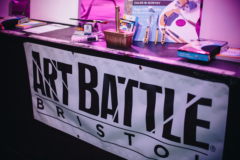 Art Battle Bristol at The Trinity Centre