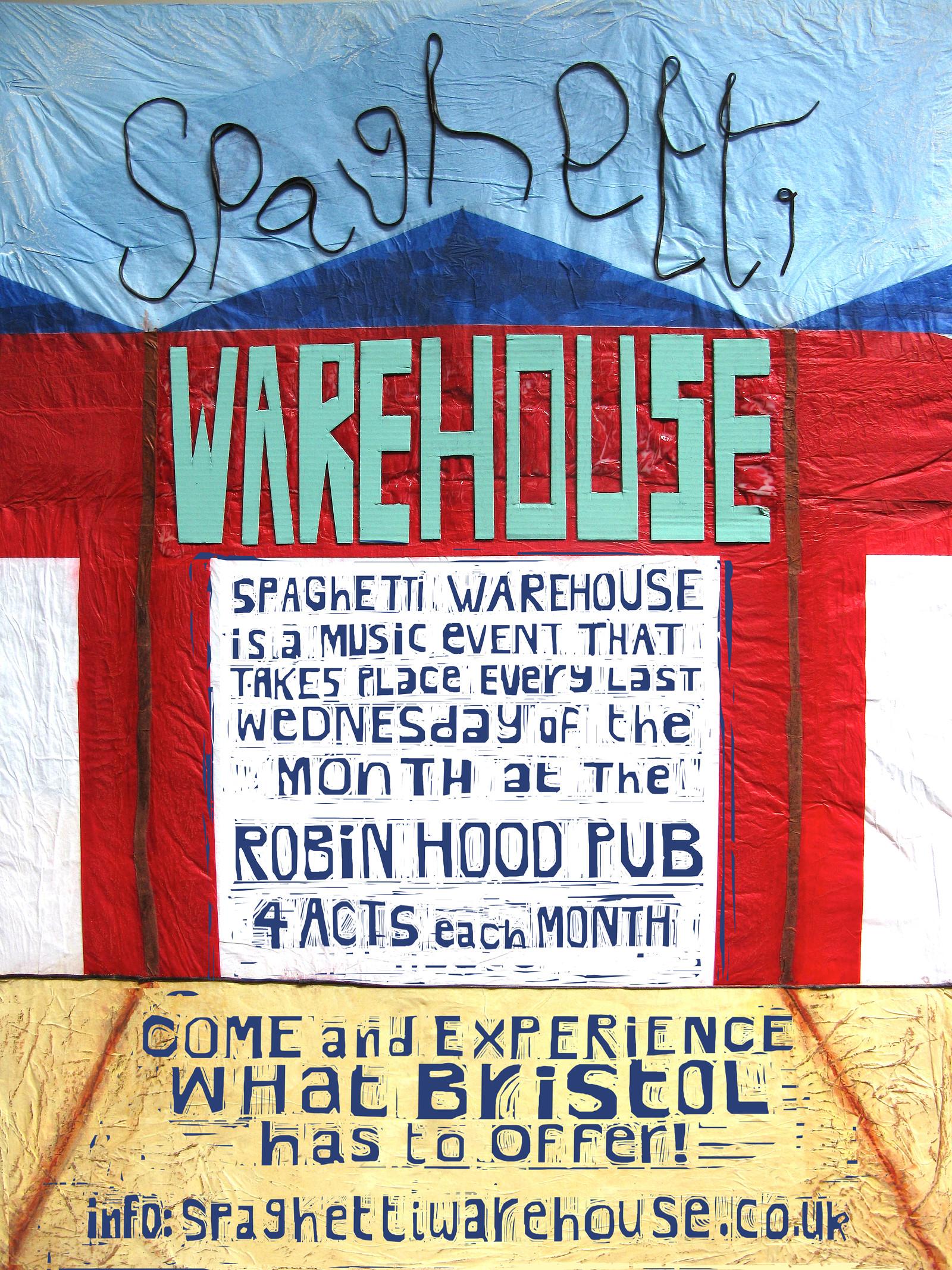Spaghetti Warehouse , The Robin Hood – Headfirst Bristol
