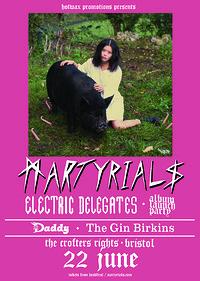HW: Martyrials 'Electric Delegates' Album Launch in Bristol