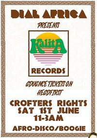 Dial Africa Pres. Kalita Records in Bristol