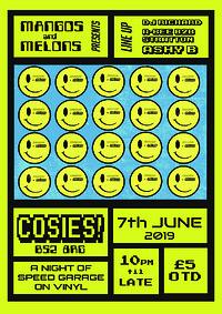 Mangoes + Melons - 90s Speed Garage shubz in Bristol