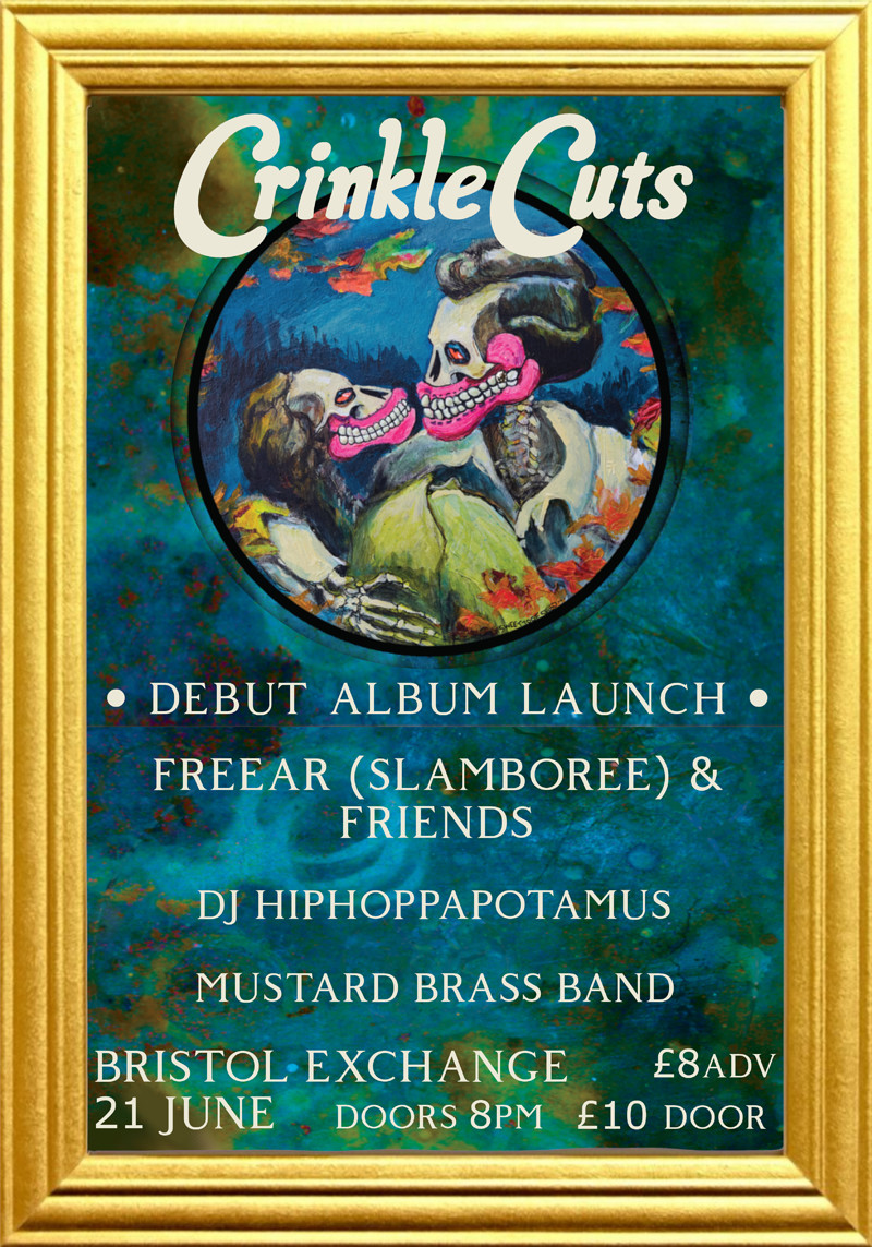 Crinkle Cuts Album Launch at Exchange