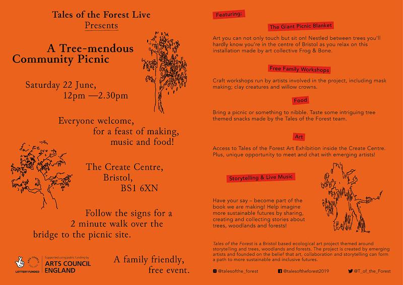 Tree-mendous Community Picnic  at Create Centre, Smeaton Road, Spike Island, Bristol, BS1 6XN