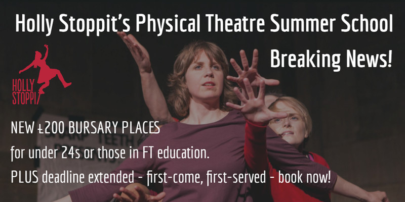 Physical Theatre Summer School at St Michael's Parish Hall