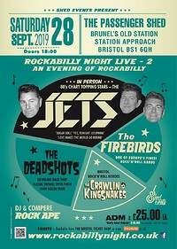 Rockabilly Night LIVE 2: The Jets & Special Guests in Bristol