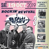 The Rockin' Revival: Polecats plus 3 in Bristol