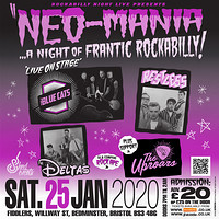 Neo-Mania: A Night of Frantic Rockabilly in Bristol