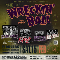 The Wrecking Ball - Psychobilly Extravaganza in Bristol